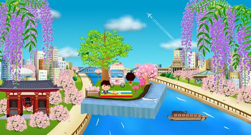 春の川辺でお花見を楽しもう!イベントイメージ