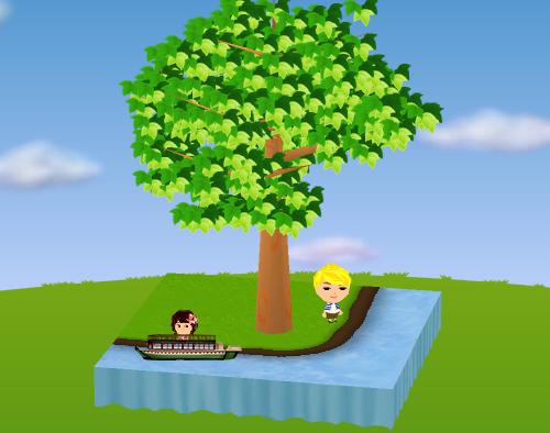 屋形船 設置例