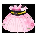 桜の和ドレス