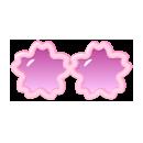 桜サングラスA