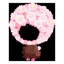 桜の着ぐるみ