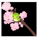 手持ち桜うぐいす