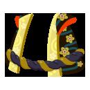 金太郎羽織腰縄