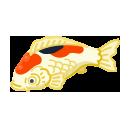 手持ちの鯉 紅白
