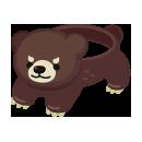 腰巻き金太郎クマ