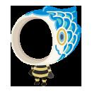 鯉のぼり着ぐるみ 青