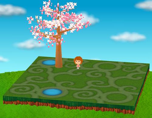バラの庭園シートA/B/C/D 設置例